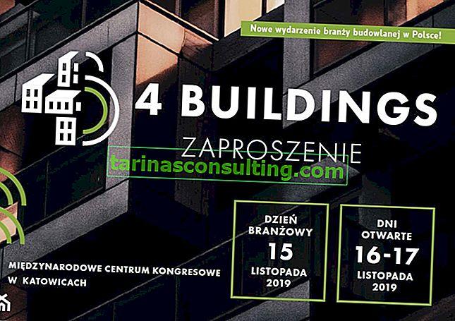 Débat sur l'avenir de la construction - Conférence 4Buildings, 15-17 novembre 2019