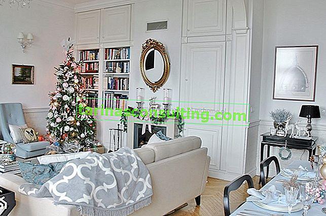 Dove mettere un albero di Natale - Vigilia di Natale feng-shui