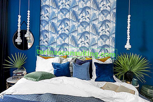 Come scegliere il colore delle pareti con carte da parati fantasia e alla moda?