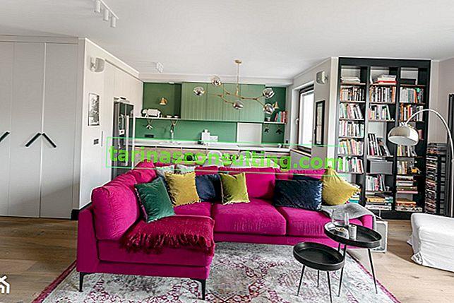 Fuchsia - eine perfekte Farbe nicht nur für mutige Innenräume