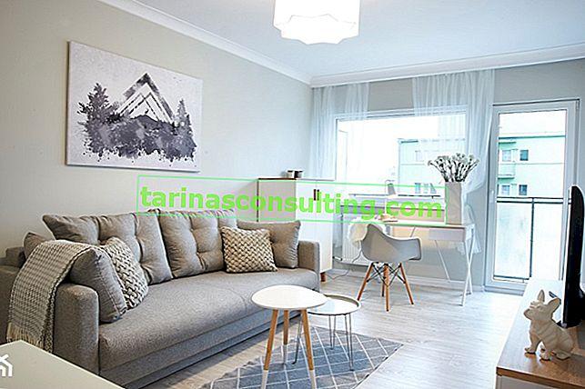 Un piccolo soggiorno: quali colori delle pareti scegliere? 6 colori che ingrandiscono otticamente lo spazio