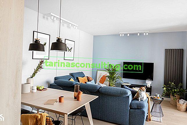 Il colore entra nell'interno: come abbinare il colore delle pareti ai mobili? Guida