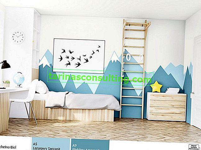 Di che colore è la stanza di un bambino? Come dipingere, come organizzare?