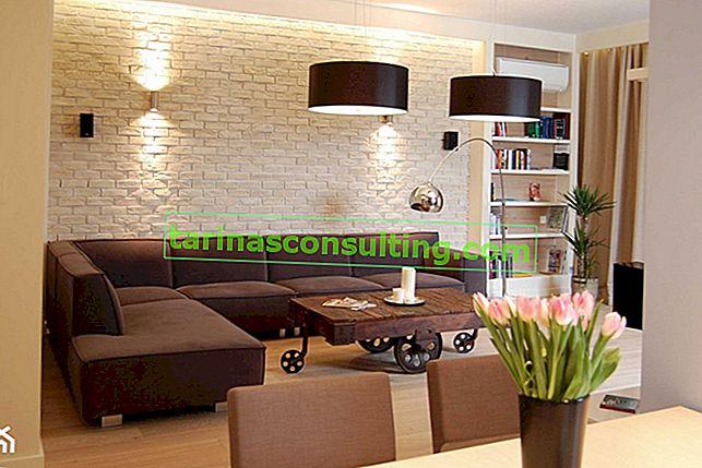 Mobili scuri nel soggiorno: che colore delle pareti si adatta a loro? Conosciamo la risposta