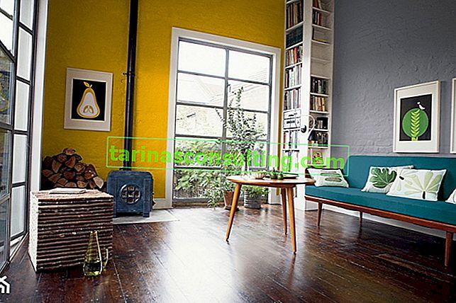Colore senape negli interni: arrangiamenti, suggerimenti e idee decorative