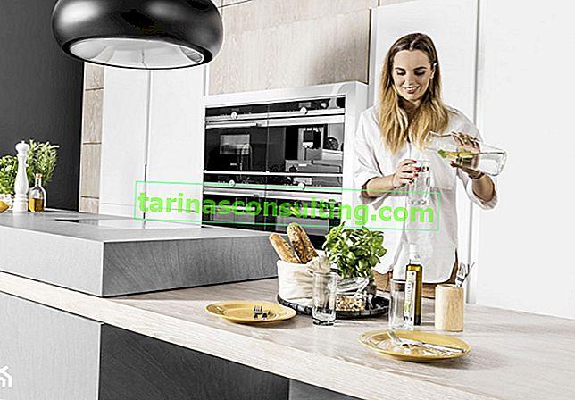 Come scegliere materiali e colori dei mobili della cucina in modo che l'effetto sia sorprendente?