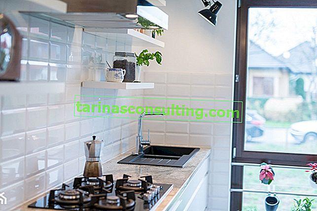 Tendenze homebook: controsoffitti in marmo della cucina