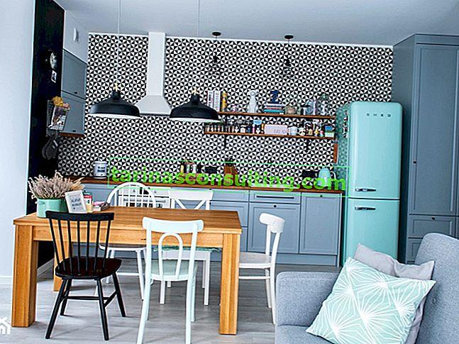 Barevný kuchyňský nábytek - přehled inspirativních řešení