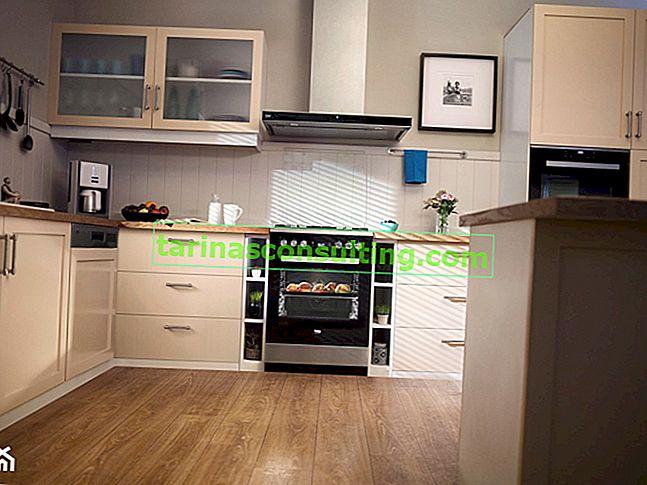 Samostatně stojící kuchyň - řešení pro moderní byt