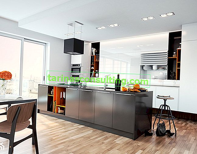 Frontali acrilici in cucina, che è un interno alla moda in molti stili. Scopri i vantaggi del materiale moderno!