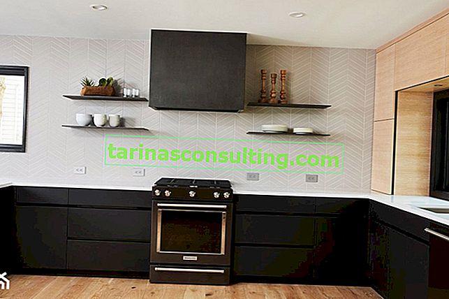 Matériaux modernes dans la cuisine - façades en acrylique, ou 4 idées pour un arrangement élégant