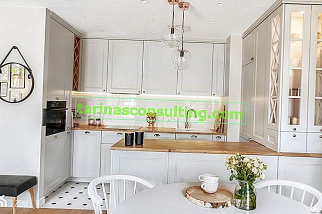 Ristrutturazione di una piccola cucina in un condominio - 6 trucchi che ingrandiranno visivamente l'interno
