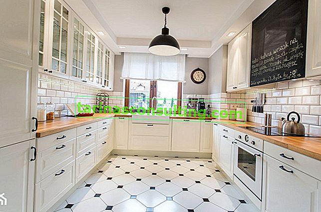 Podlahové dlaždice v kuchyni. Zvolili jsme efektivní povrchovou úpravu kuchyňské podlahy