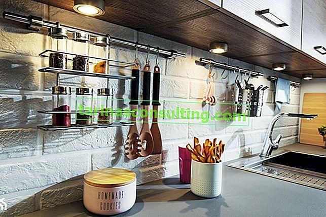 7 spazi per riporre la cucina che vale la pena organizzare