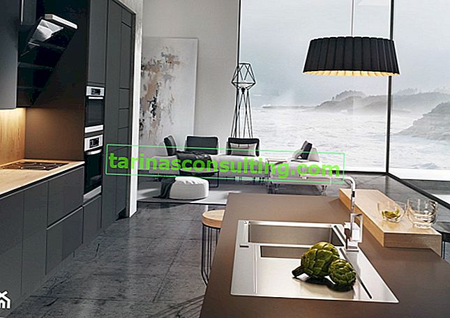 Lavelli in acciaio in una cucina moderna: guarda come organizzare una zona lavaggio alla moda e confortevole!
