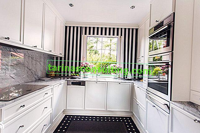Bílý kuchyňský nábytek - klady a zápory