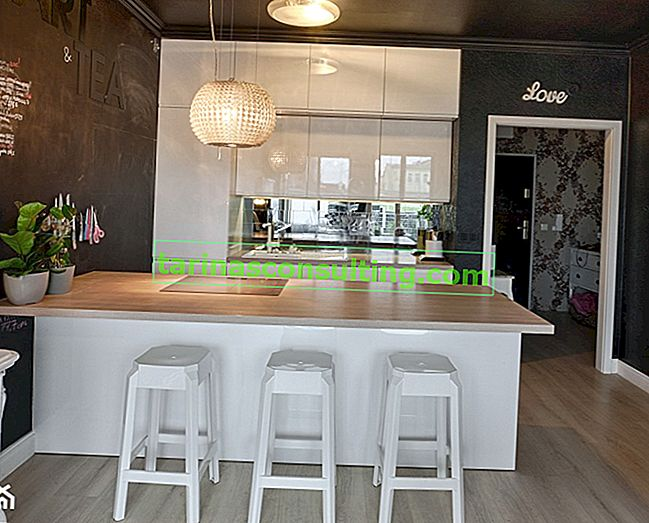Come separare la cucina dal soggiorno? Idee per una cucina aperta
