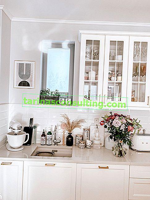 Piastrelle per pareti per la cucina: modelli che funzioneranno bene in un piccolo interno