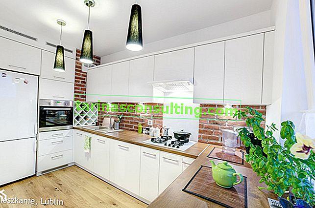 Bílá kuchyň - jaká podlaha? Jak si vybrat barvy v kuchyni?
