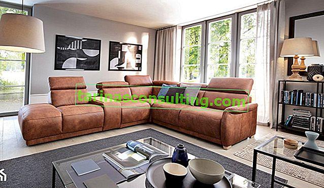Canapé d'angle dans le salon - pourquoi vaut-il la peine de choisir?