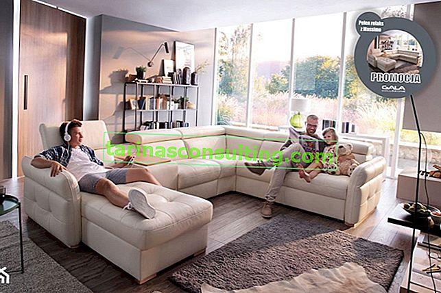 Une proposition pour les clients exigeants - le meilleur canapé avec une fonction de relaxation!