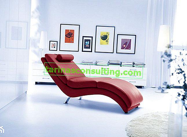 Chaise longue - un meuble qui fonctionnera dans chaque salon
