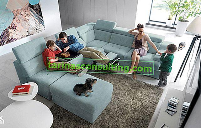 Quando arrivano gli ospiti ... si tratta della funzione di dormire in divani e divani angolari