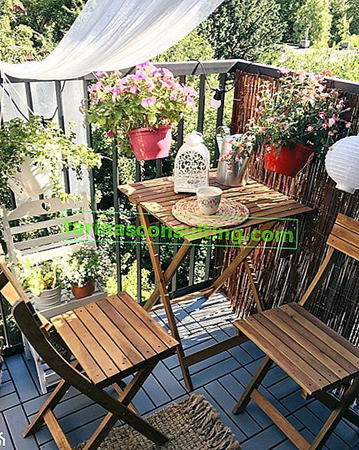 Meubles pour le balcon: que choisir? 10 idées de meubles de balcon