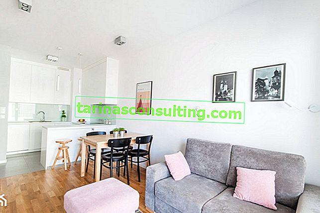 Come organizzare un piccolo appartamento? 38 mq in 5 allestimenti originali