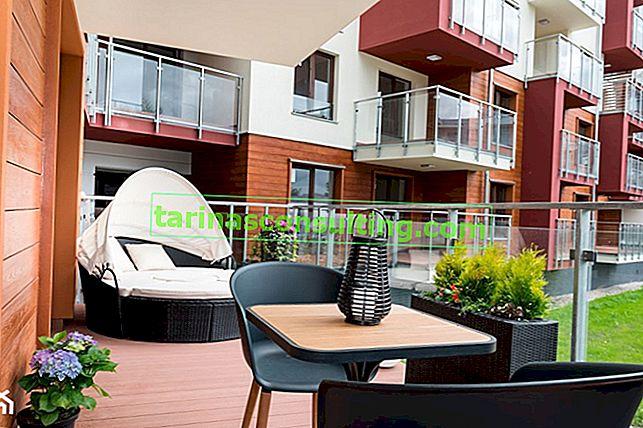 Terrasse dans un immeuble - TOP 5 des arrangements sur Homebook.pl