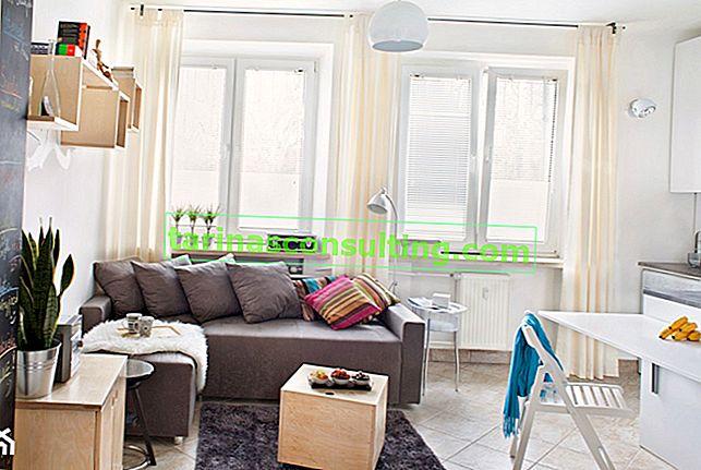 Come ingrandire visivamente lo spazio di un piccolo appartamento in un condominio?