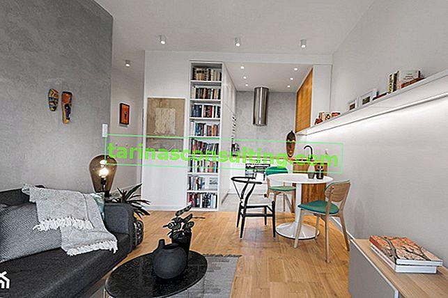 5 superbes designs de studio jusqu'à 30 m². Être inspiré!
