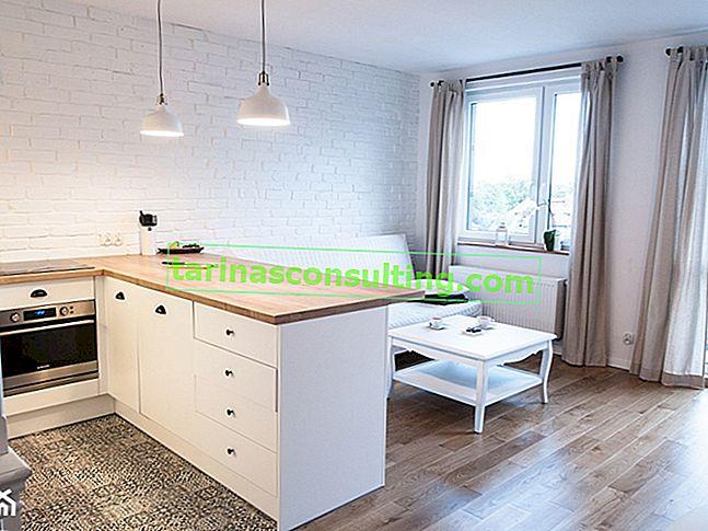 Come organizzare una cucina con soggiorno in un condominio?