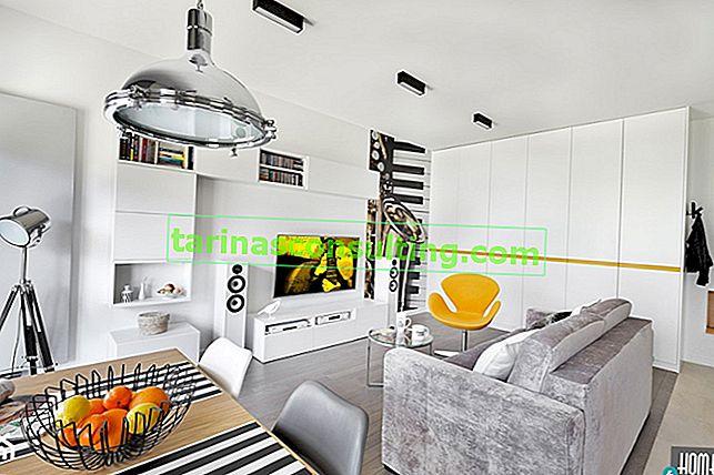 Idee di archiviazione intelligenti in un piccolo appartamento in un condominio