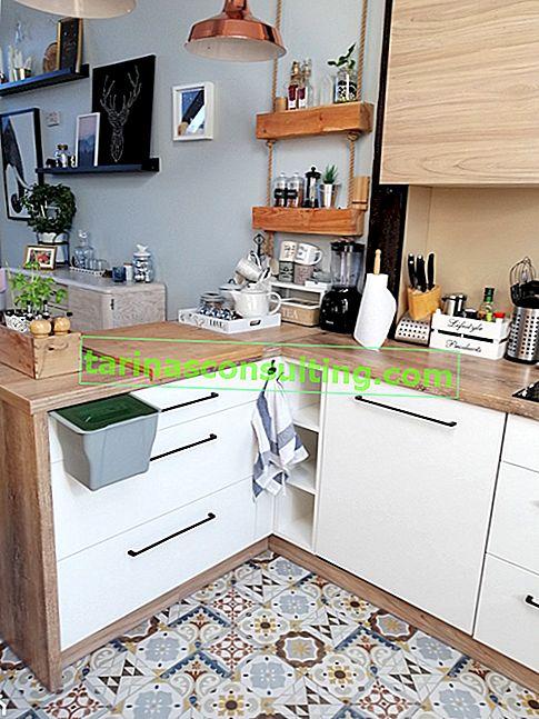 6 modi per separare i rifiuti in un piccolo appartamento. Gli ultimi 2 ti sorprenderanno