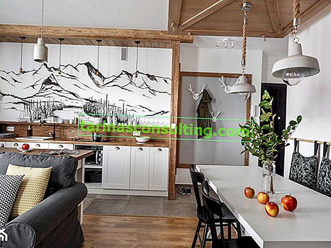 Welche Lampen für eine Küche im skandinavischen Stil?