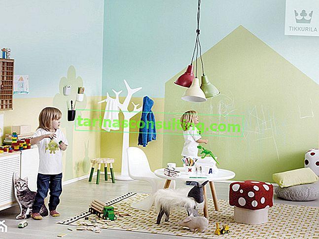 Comment aménager une zone de jeux dans la chambre d'un enfant? Idées créatives