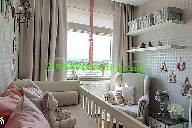5 idées de commande dans la chambre d'un bébé