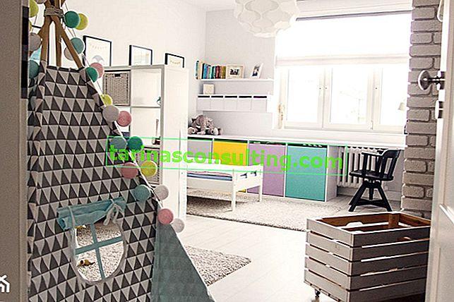 Comment décorer la chambre d'un enfant dans le style scandinave - 8 idées