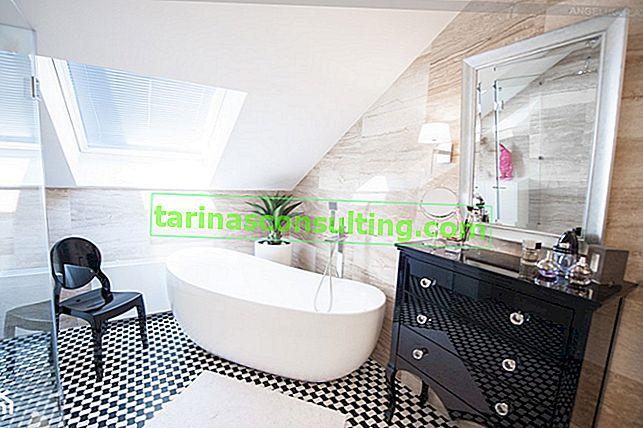 Disposizione di un bagno in soffitta: quali errori non dovrebbero essere commessi?