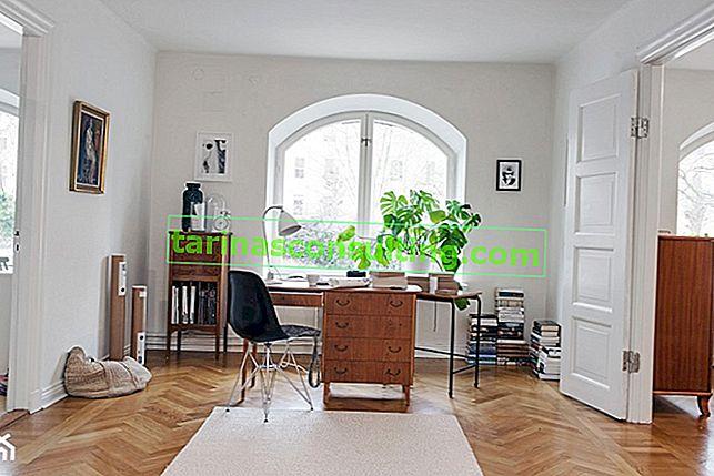 Che colore delle pareti si sposa bene con i mobili marroni?