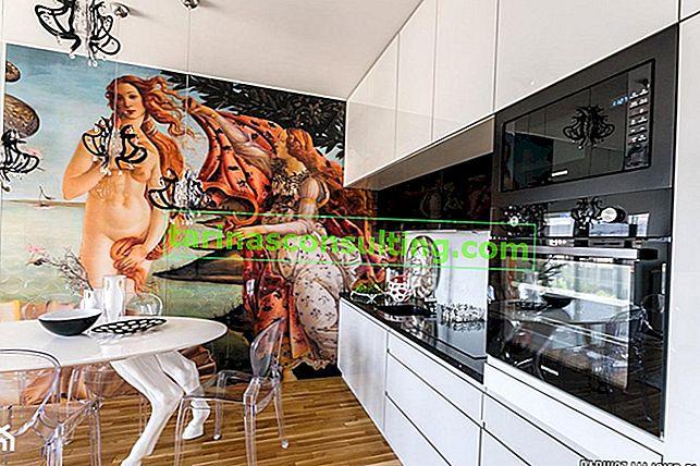Decorazioni per pareti in cucina - 12 idee per un muro bianco in cucina