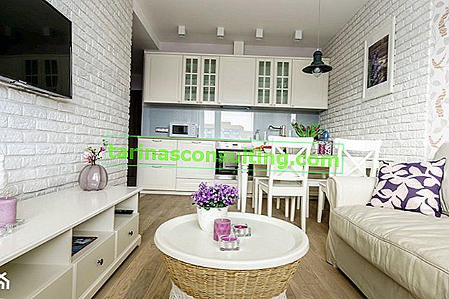 Come organizzare un piccolo appartamento? 35 m² in sei diverse disposizioni