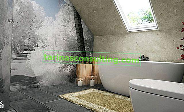 E il bagno invece delle piastrelle? 5 idee per la decorazione della parete