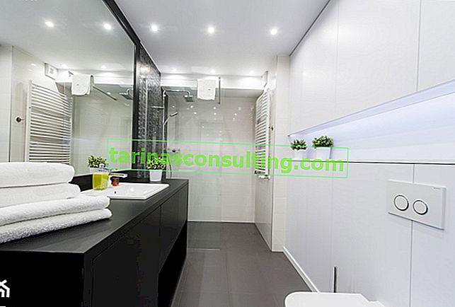 Come organizzare un bagno stretto?