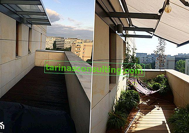 Come ombreggiare il balcone dal sole?