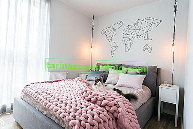Il muro dietro il letto in camera da letto: guarda alcuni suggerimenti estremamente stimolanti!