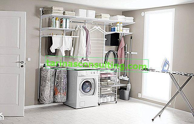 Come organizzare una lavanderia domestica? Suggerimenti pratici