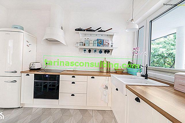 Quale piano di lavoro per una cucina bianca? 7 idee comprovate di interior designer