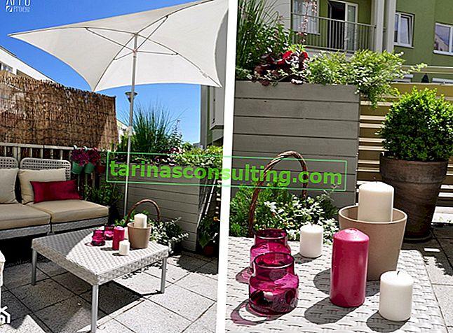 Disposizione di un balcone soleggiato - consigli pratici